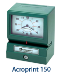 Acroprint-125 Time Clock
