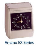 Amano EX 9000 Time Clock