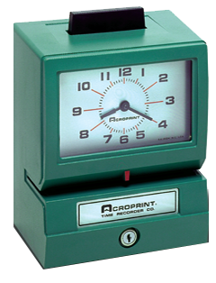 Acroprint Time Clock