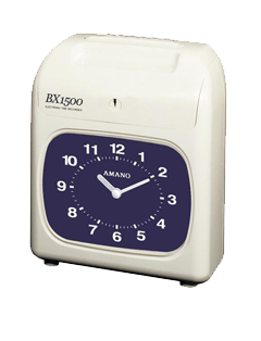 Amano BX-1500 Time Clock