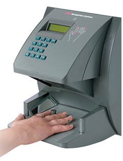 Biometric Hand Punch - Hand Scanner Time Clock