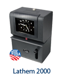 Lathem 2000 Time Clock