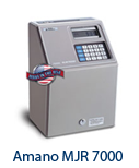 Amano MJR-7000 Time Clock