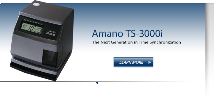 Amano OATS Compliant Time Stamp - TS-3000i