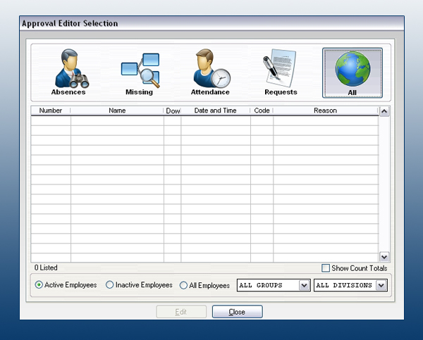 employee time and attendance software genesis pro central time
